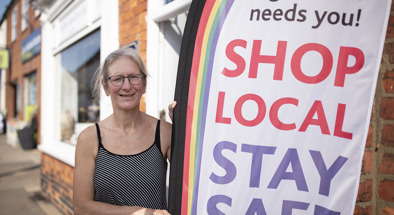 Shop Local, Stay Safe, Be Kind – in Spilsby