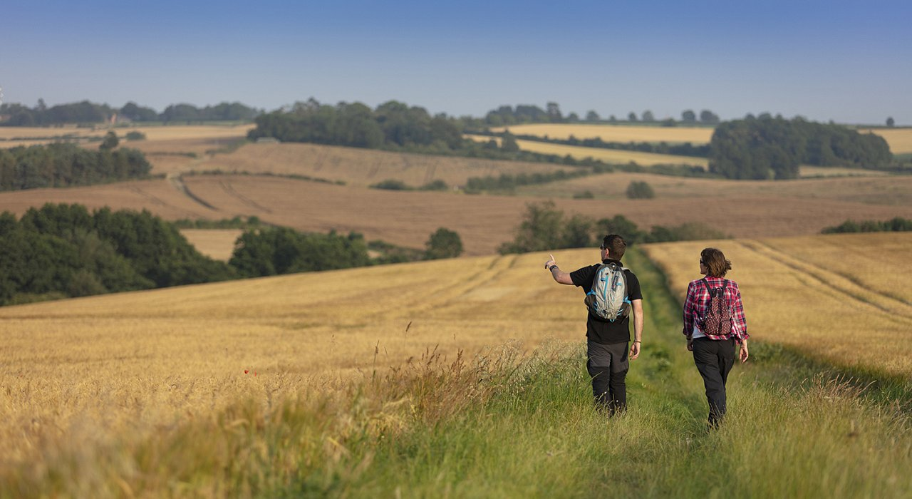 VIDEO - The Lincolnshire Wolds are made for walking